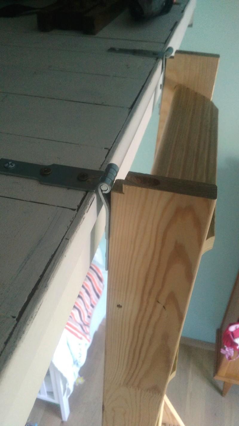 adapter escalier escamotable pour une mezzanine. Black Bedroom Furniture Sets. Home Design Ideas