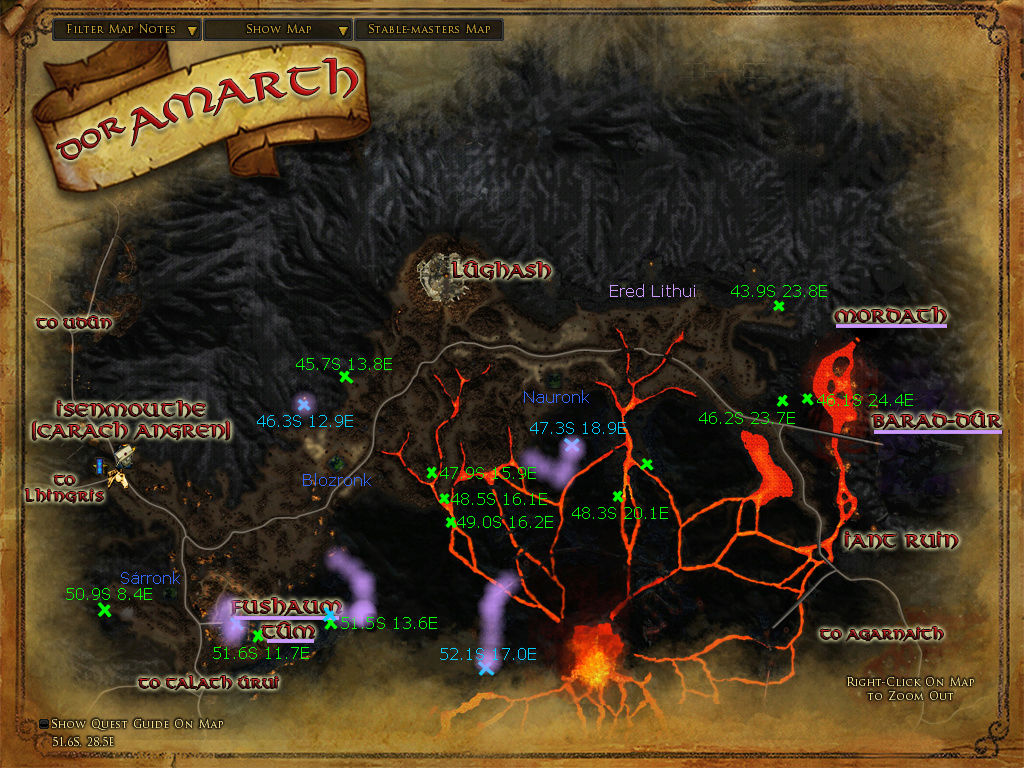 lotro how to get into mordor