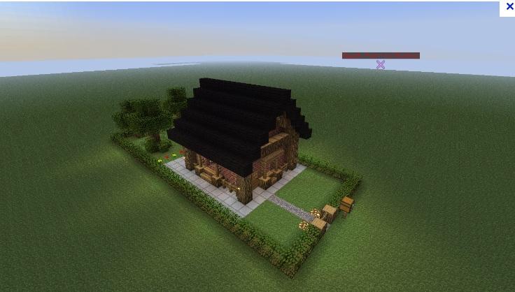 Skygrid ile flottante miam page 1 vos projets forum for Maison classique minecraft