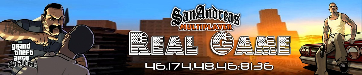 [ 0.3e ] SAMP | Real Game | RP | Server: 01