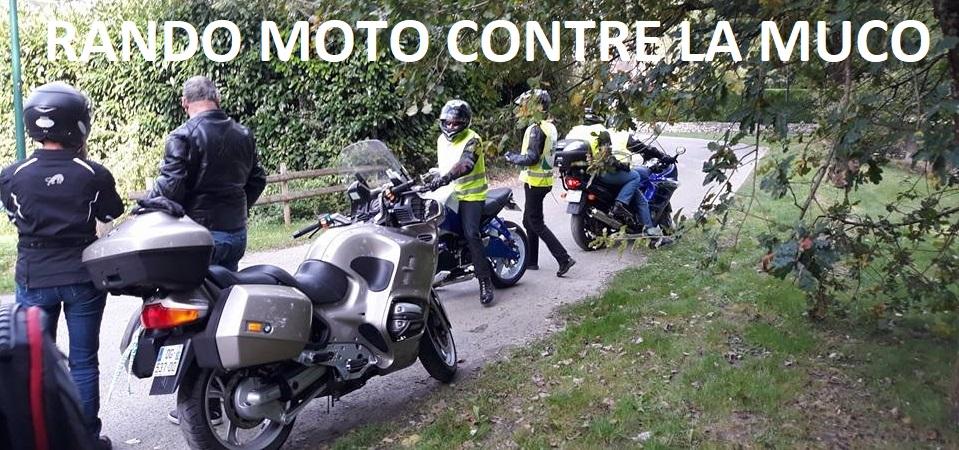 rando moto contre la muco