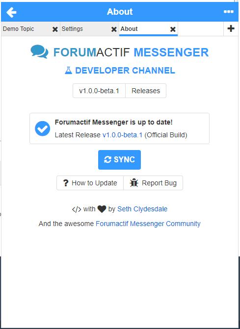 Config · SethClydesdale/forumactif-messenger Wiki · GitHub