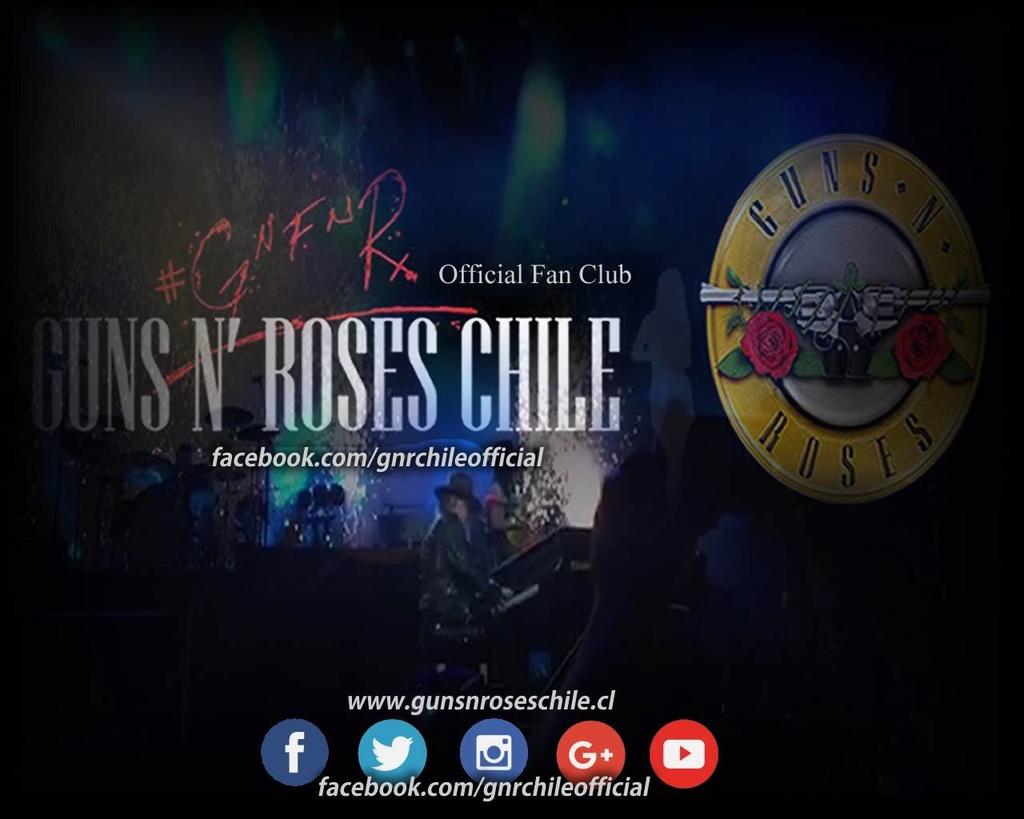 Guns N Roses Chile