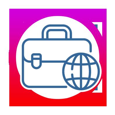 icone Être présent dans au moins 4 pays