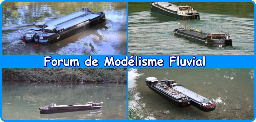 Maquette fluvial/ river model