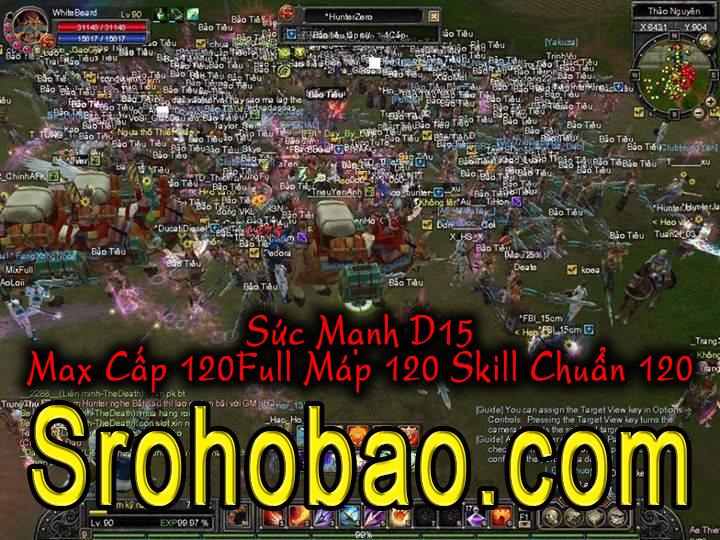 SROHOBAO.COM D15 | Max120 | Map120 | Skill 120 Chuẩn D15 ổn định lâu dài, UPPPPPpp