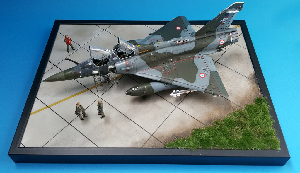 Mirage 2000d Heller Olymp Resin 1 72eme Le Dio