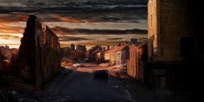 Les rues et ruines