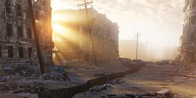 Les rues et les ruines