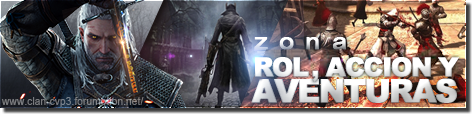 Zona de juegos de rol, acción y aventuras