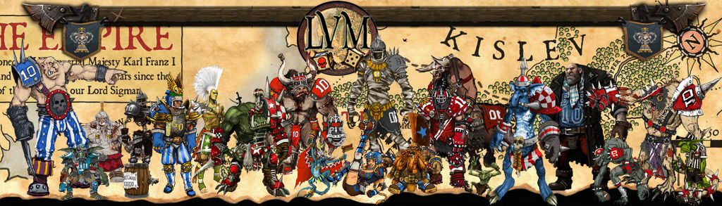 Blood Bowl II - LIGUE DU VIEUX MONDE