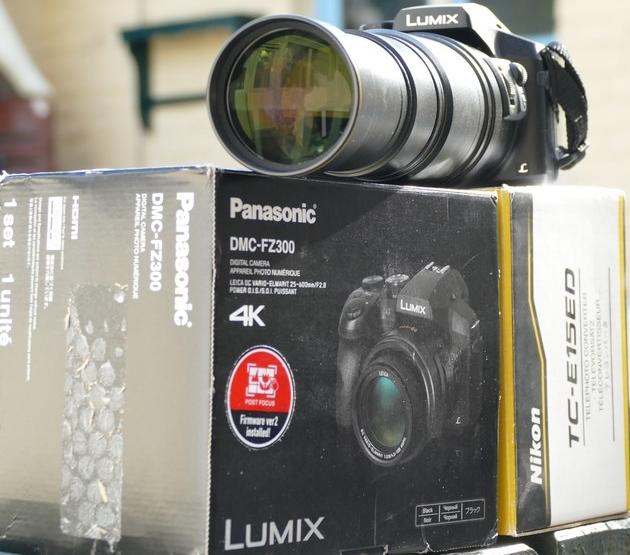 Vendu bridge panasonic fz300 t l nikon tc e15ed for Housse lumix gx80