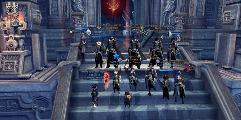 Le clan Forever Dreams sur Blade and Soul