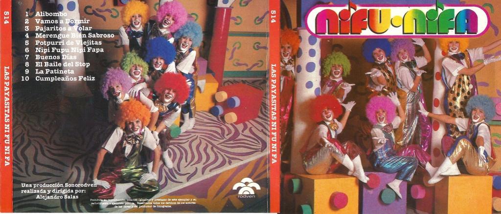 discografia de las payasitas nifu nifa
