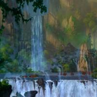 Les cascades mystiques