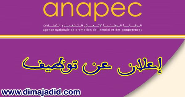 أنابيك : توظيف 02 مستشار مبيعات بمدينة القنيطرة ANAPEC: Concours de recrutement de(02) Conseiller De Vente sur KENITRA
