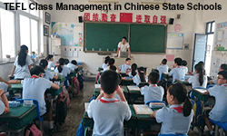 Classes in Asian state schools often contain 60+ students. New TEFL teachers often have a problem with class management, often another term for loss or lack of control and leadership skills.
