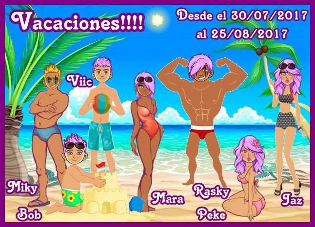 VACACIONES!!!