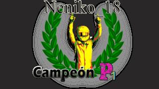 Neniko_18, campeón de P1 de la Temporada 2