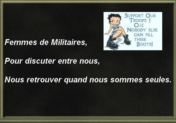 Forum Femmes de Militaires