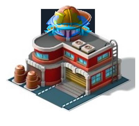La caserne de pompier
