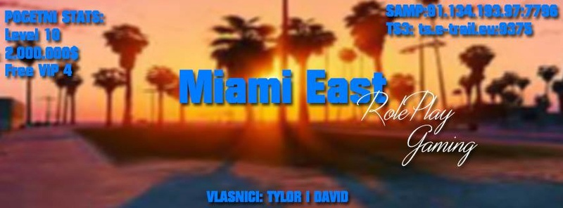 Miami East RolePlay