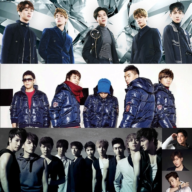 BIGBANG, SHINee & Super Junior members (Picture click) Quiz - By