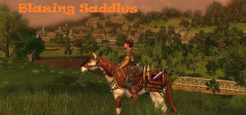 Blazing Saddles - LOTRO