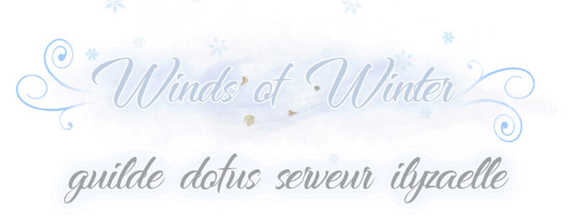 Winds of Winter guilde dofus