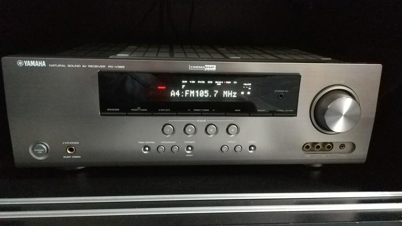 Yamaha Rx V  Receiver Net Radio Not Working