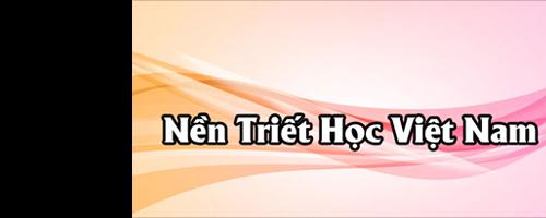 Nền Triết Học Việt Nam