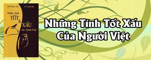 Những Tính Tốt Xấu Của Người Việt
